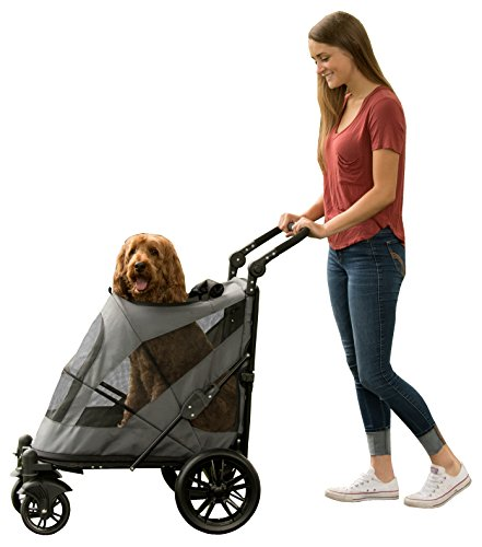 Pet Gear Hundebuggy Ausflug zipperless Eintrag Pet Kinderwagen für...