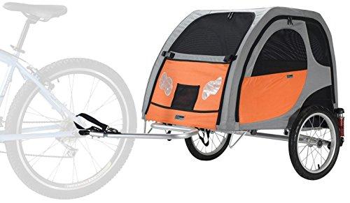 Petego Comfort Wagon M - gefederter Aluminium Hundeanhänger...